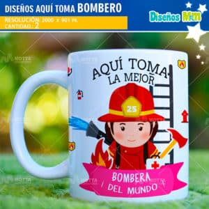 disenos-desing-templates-plantillas-mugs-tazas-vasos-sublimacion-profesiones-chile-colombia-bomberos-fuego-salvavidas-firefighter-espana-aqui-toma-el-mejor_2