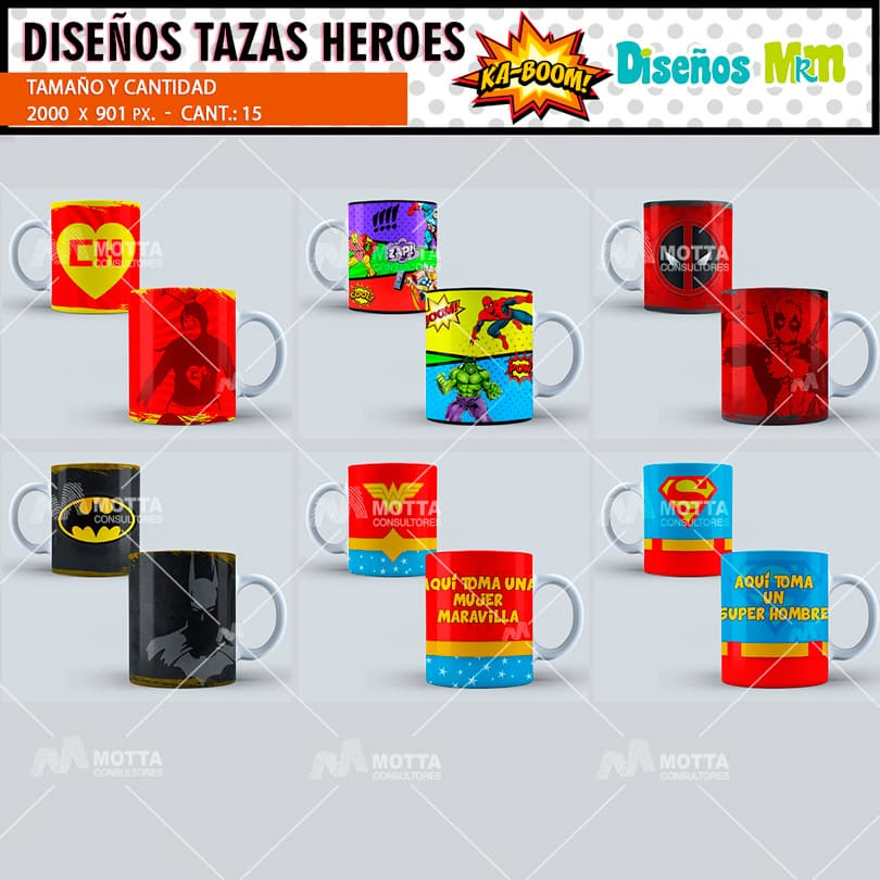 plantilla-diseno-marco-tazas-mug-design-heroes-marvel-superman-mujer-maravilla-batman-deapol-linterna-verde-capitan-america_3