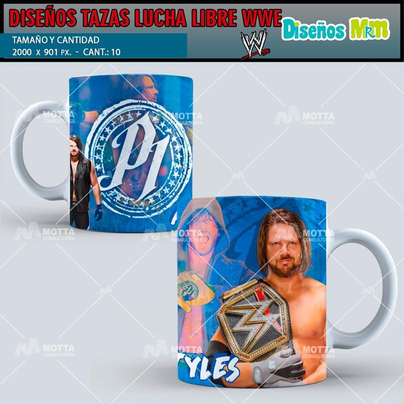 plantilla-diseno-marco-tazas-mug-design-lucha-libre-wwe-la-roca-2