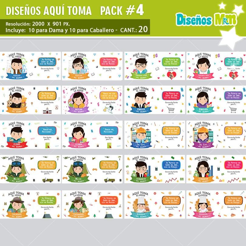 PLANTILLA DE PROFESIONES AQUI TOMA EL MEJOR PARA SUBLIMAR PACK N 4