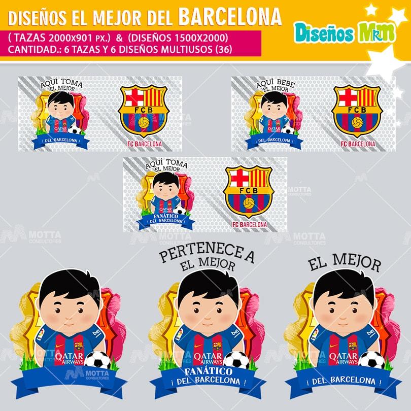DISEÑOS AQUI TOMA EL MEJOR FANÁTICO DEL BARCELONA FC