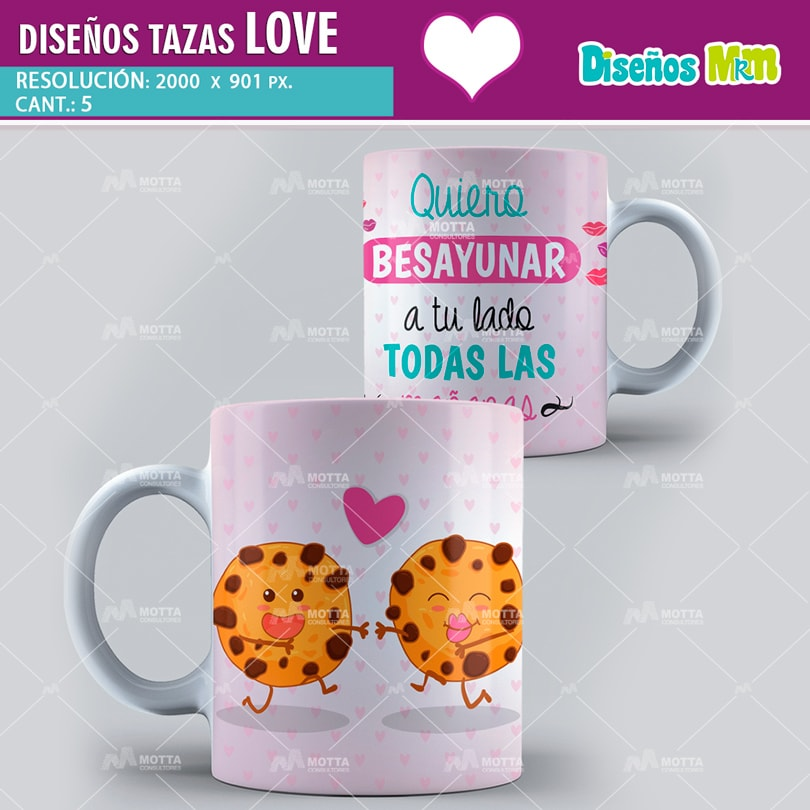 DISEÑOS PSD TAZAS 14 DE FEBRERO | MOTTA CONSULTORES