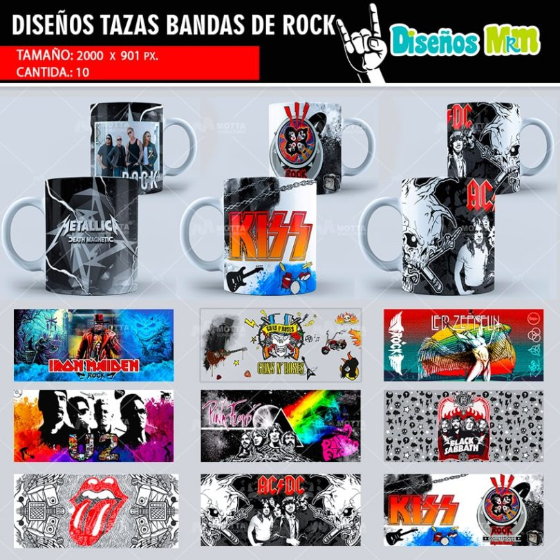 plantilla-diseño-tazas-mug-design-bandas-rock-kiss-metallica-acdc-rolling-stone-guns-roses-iron-maiden-pink-floyd-min
