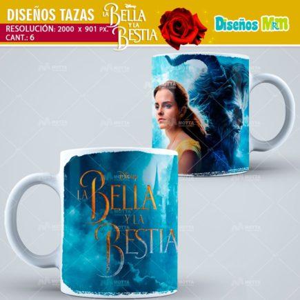 plantilla-diseño-design-tazas-mug-vaso-amor-bella-y-la-bestia-Beast-disney-rosa-hechizo-tetera-argentina-chile-colombia-1-min