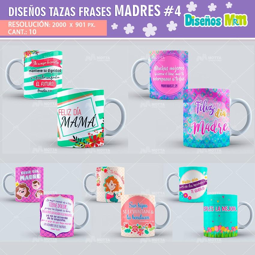 Diseños Frases Dia De Las Madres Cuarta Entrega
