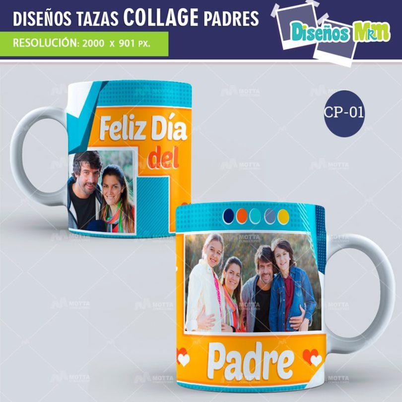 plantilla-diseño-design-tazas-mug-collage-dia-del-padre-papa-papi-junio-father-1-min