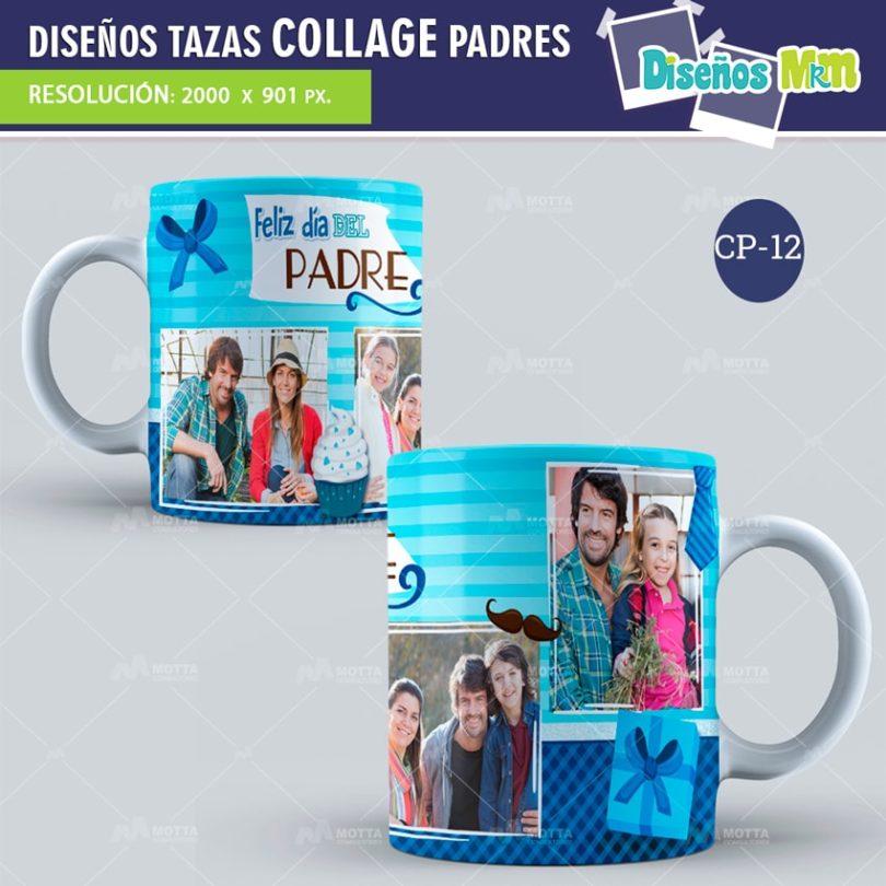 plantilla-diseño-design-tazas-mug-collage-dia-del-padre-papa-papi-junio-father-12-min