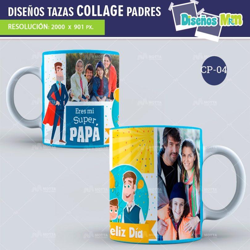 plantilla-diseño-design-tazas-mug-collage-dia-del-padre-papa-papi-junio-father-4-min