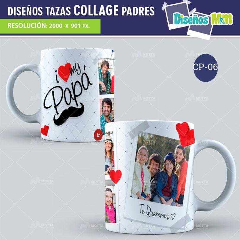 plantilla-diseño-design-tazas-mug-collage-dia-del-padre-papa-papi-junio-father-6-min