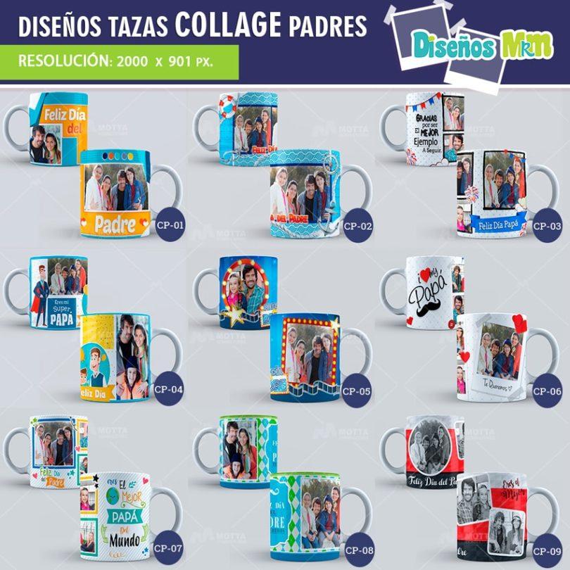 plantilla-diseño-design-tazas-mug-collage-dia-del-padre-papa-papi-junio-father-hombre-fotos-min
