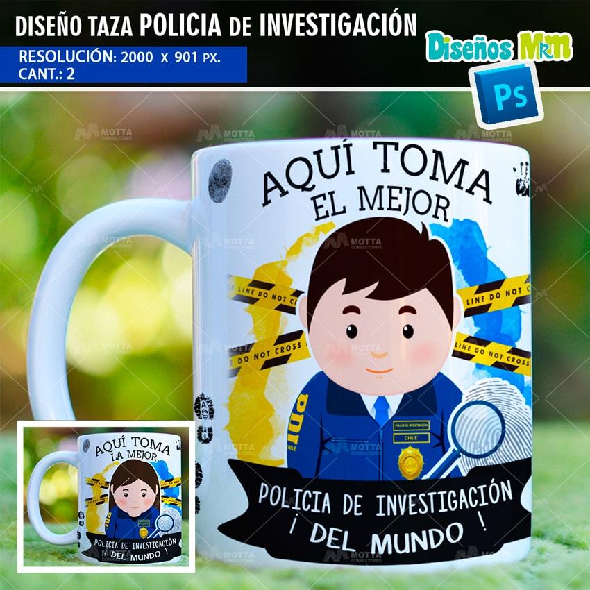 DISEÑOS AQUI TOMA EL MEJOR POLICIA DE INVESTIGACIÓN