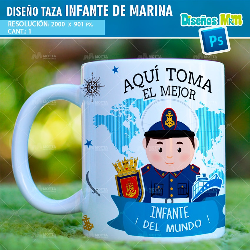 DISEÑOS AQUI TOMA EL MEJOR INFANTE DE MARINA