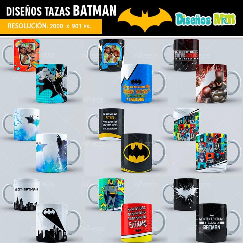 DISEÑOS PARA TAZON DE BATMAN