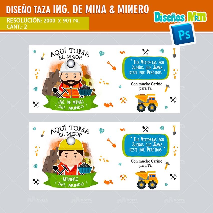 DISEÑOS AQUI TOMA EL MEJOR MINERO | INGENIERO DE MINAS