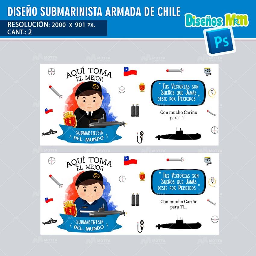 DISEÑOS AQUI TOMA EL MEJOR SUBMARINISTA DE LA ARMADA