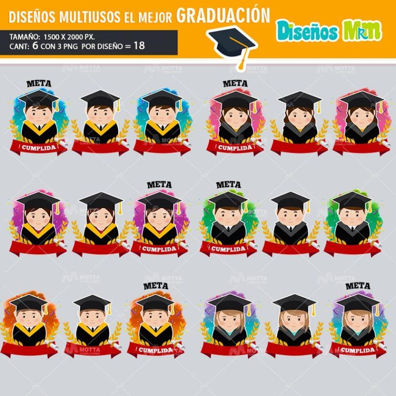 plantilla-diseño-el-mejor-graduacion-preparatoria-universidad-promocion-estudiar-toga-mexico-min