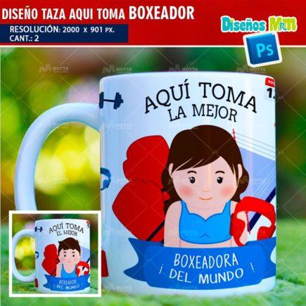 DISEÑOS AQUI TOMA EL MEJOR BOXEADOR