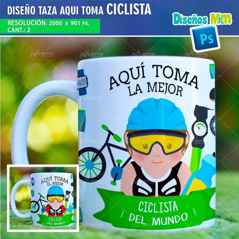 plantilla-diseño-marco-tazas-mug-design-aqui-toma-el-mejor-ciclista-deporte-chile-argentina-min