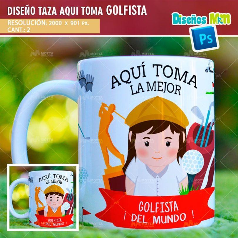 plantilla-diseño-marco-tazas-mug-design-aqui-toma-el-mejor-golfista-cancha-deporte-chile-argentina-min