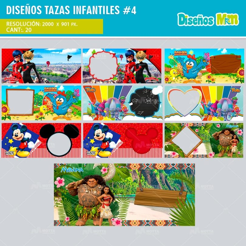 plantilla-diseno-design-tazas-mug-tazones-infantiles-lady-bug-trolls-moana-cars-min