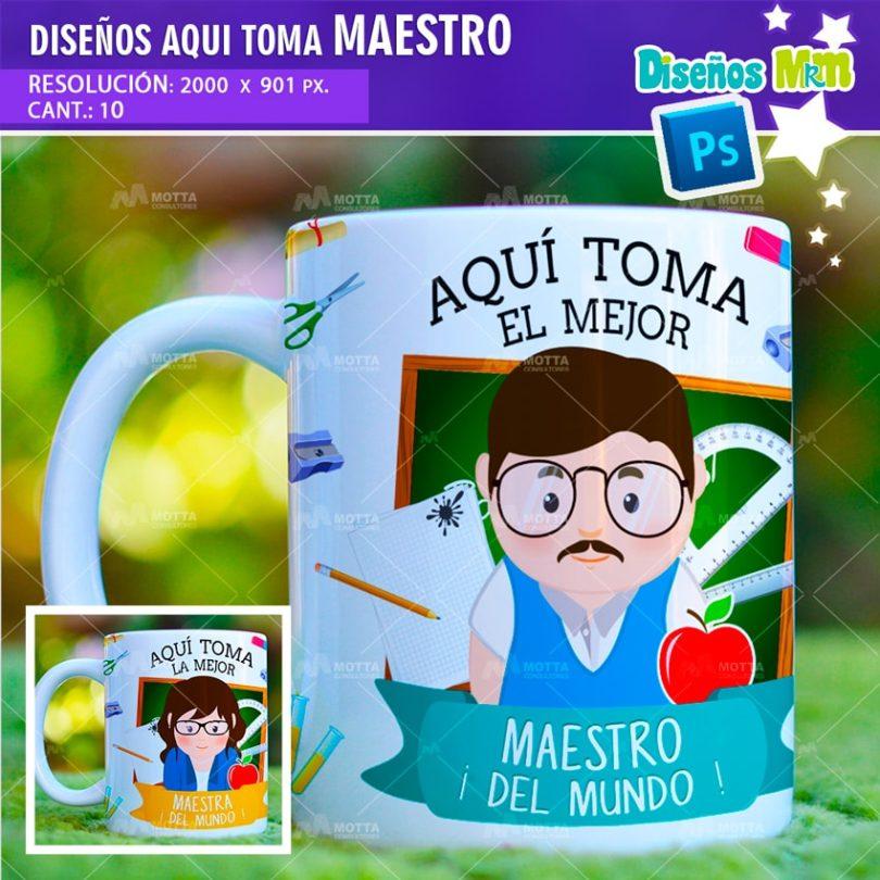 plantilla-diseño-marco-tazas-mug-aqui-toma-el-mejor-maestro-profesor-educador-costa-rica-min(1)
