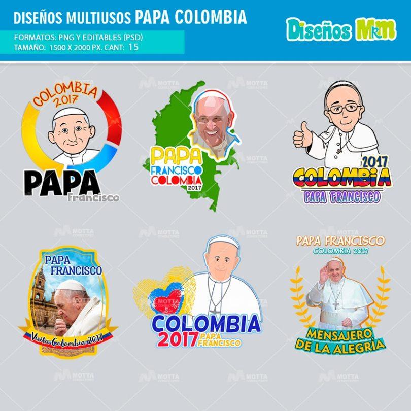 Diseños-Templates-Plantillas-mugs-tazas-sublimacion-profesiones-personalizado-colombia-visita-papa-mensajero-alegria-Dios2-min