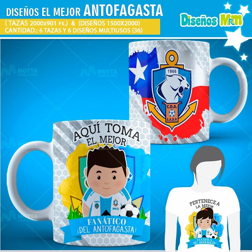 DISEÑOS AQUÍ TOMA FANÁTICO DEL ANTOFAGASTA