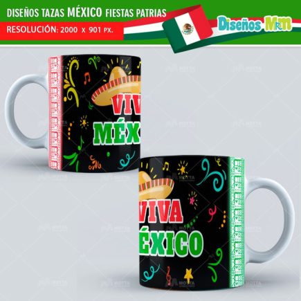 DISEÑOS TURISMO VIVA MÉXICO Y FIESTAS PATRIAS