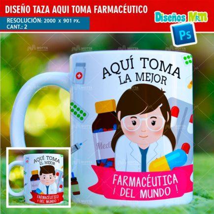 DISEÑOS AQUÍ TOMA EL MEJOR FARMACÉUTICO