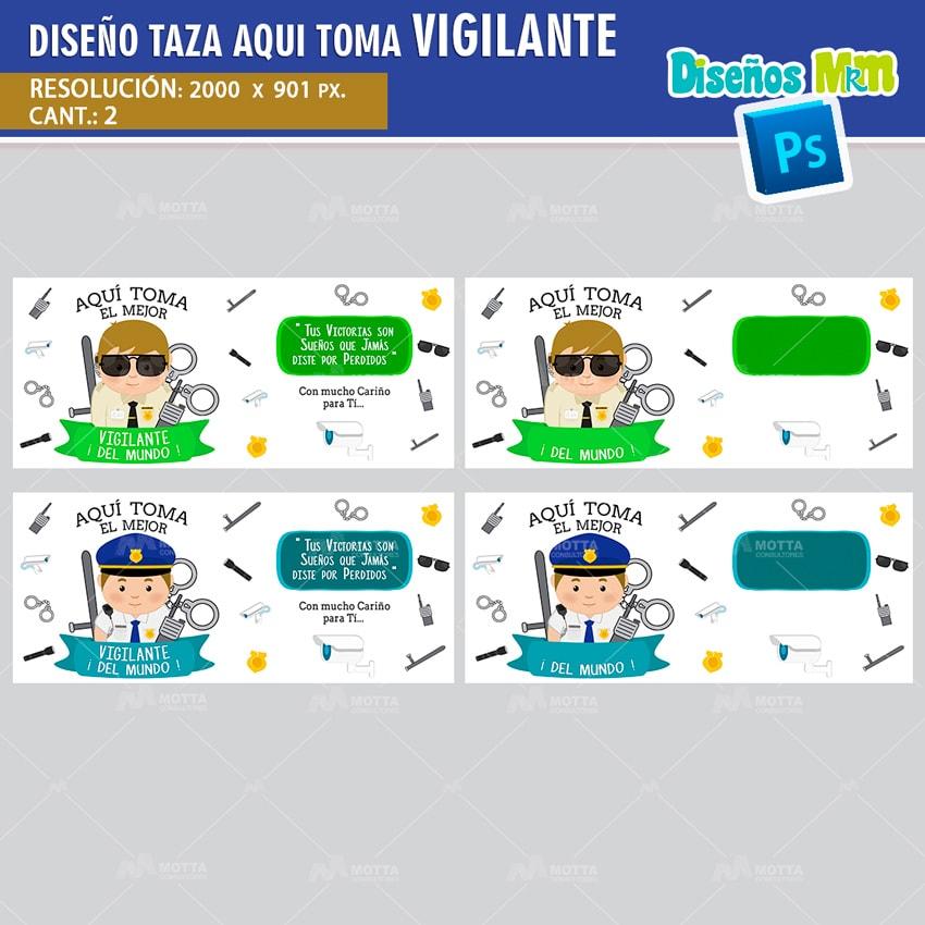 DISEÑOS AQUI TOMA EL MEJOR VIGILANTE | CELADOR