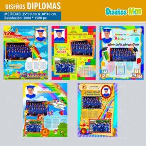 plantillas-diseños-templates-diplomas-certificado-graduacion-grado-kinder-colegio-licenciatura-bachillerato-25×30-min