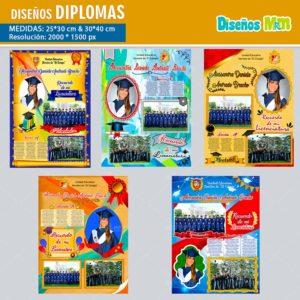plantillas-diseños-templates-diplomas-certificado-graduacion-grado-kinder-colegio-licenciatura-bachillerato-30×40-min