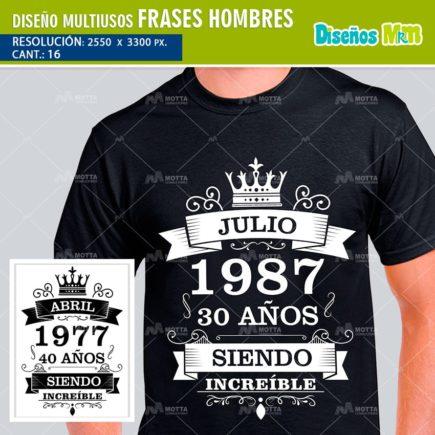 DISEÑOS MULTIUSOS FRASES DE HOMBRES