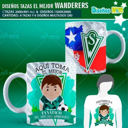 DISEÑOS AQUÍ TOMA MEJOR FANÁTICO DEL WANDERERS