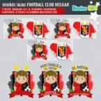 DISEÑOS AQUÍ TOMA MEJOR FANÁTICO DEL FOOTBALL CLUB MELGAR