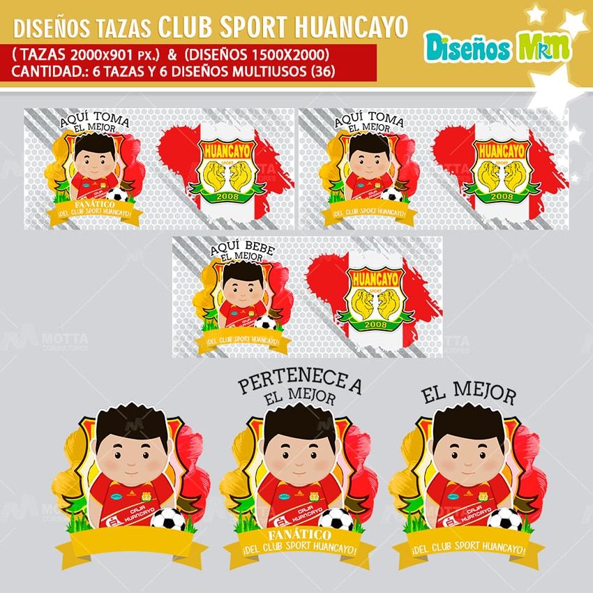 DISEÑOS EL MEJOR FANÁTICO DE CLUB SPORT HUANCAYO