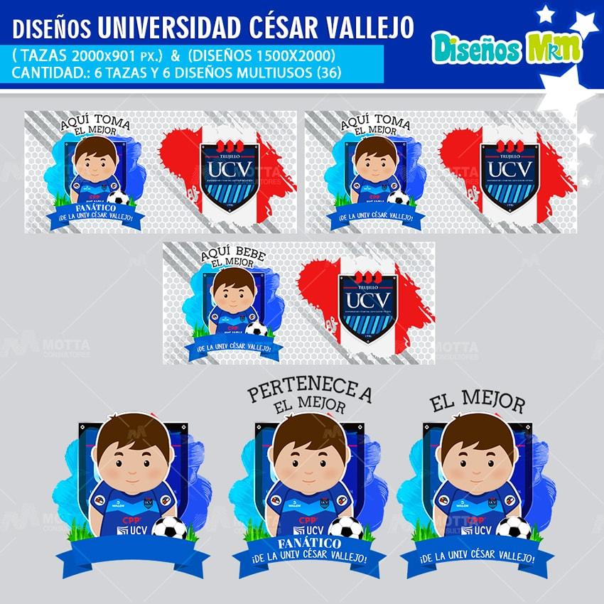 DISEÑOS MEJOR FANÁTICO DE LA UNIVERSIDAD CÉSAR VALLEJO