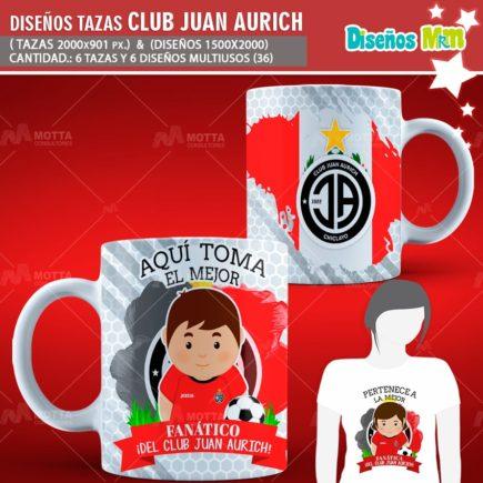 DISEÑOS AQUÍ TOMA MEJOR FANÁTICO DEL CLUB JUAN AURICH
