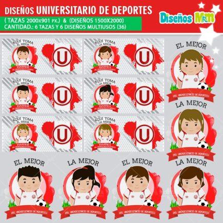 DISEÑOS AQUÍ TOMA MEJOR FANÁTICO UNIVERSITARIO DE DEPORTES