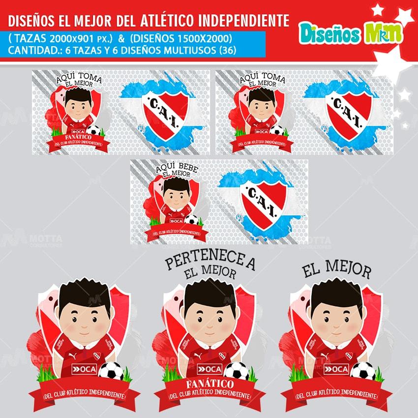 DISEÑOS MEJOR FANÁTICO DEL CLUB ATLÉTICO INDEPENDIENTE