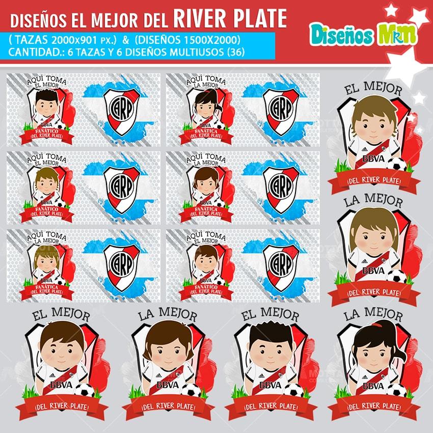 DISEÑOS AQUÍ TOMA FANÁTICO DEL RIVER PLATE