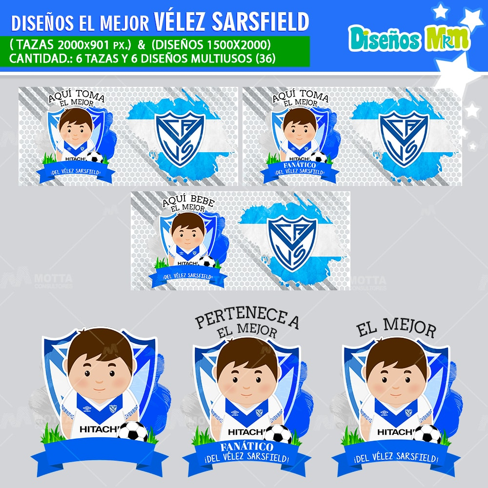 DISEÑOS AQUÍ TOMA MEJOR FANÁTICO DEL VÉLEZ SARSFIELD