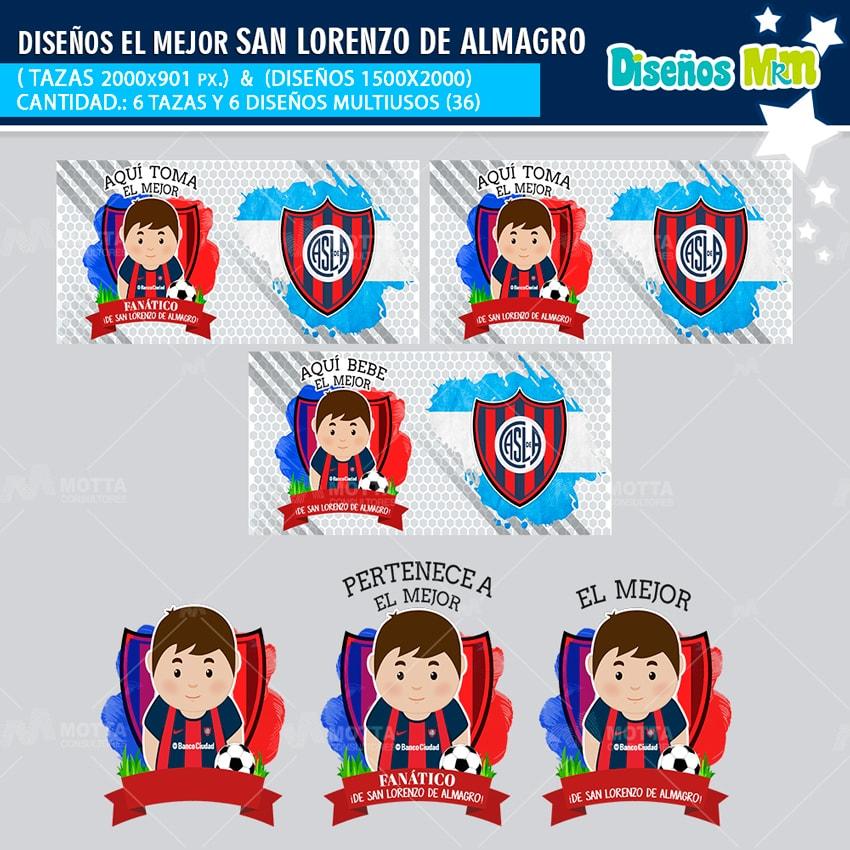 DISEÑOS AQUÍ TOMA FANÀTICO DEL SAN LORENZO DE ALMAGRO