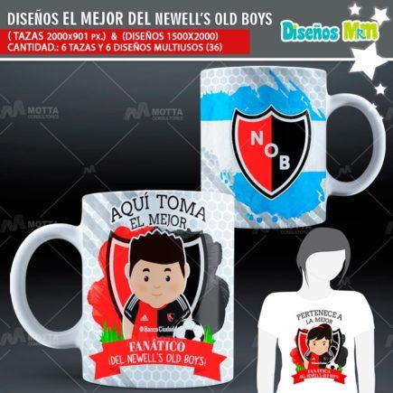 DISEÑOS AQUÍ TOMA FANÁTICO DEL NEWELL'S OLD BOYS