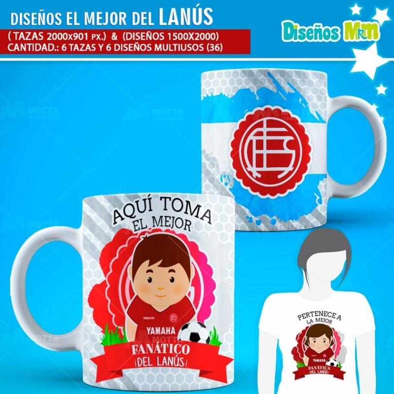Diseños-mugs-tazas-sublimacion-futbol-hincha-lanus