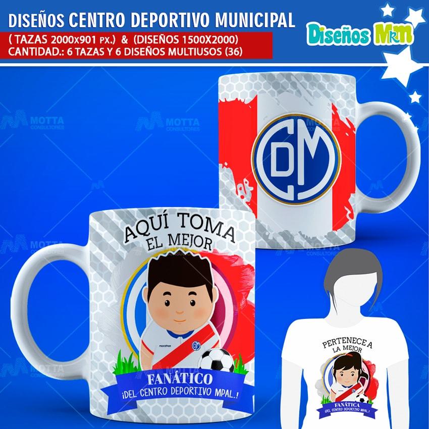 DISEÑOS EL MEJOR FANÁTICO CENTRO DEPORTIVO MUNICIPAL