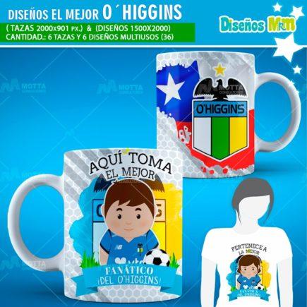 DISEÑOS AQUÍ TOMA FANÁTICO DEL O'HIGGINS