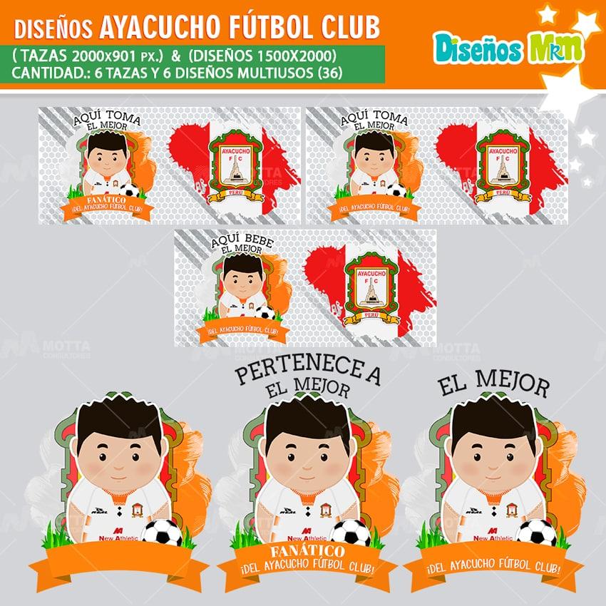 DISEÑOS AQUÍ TOMA MEJOR FANÁTICO DEL AYACUCHO FÚTBOL CLUB