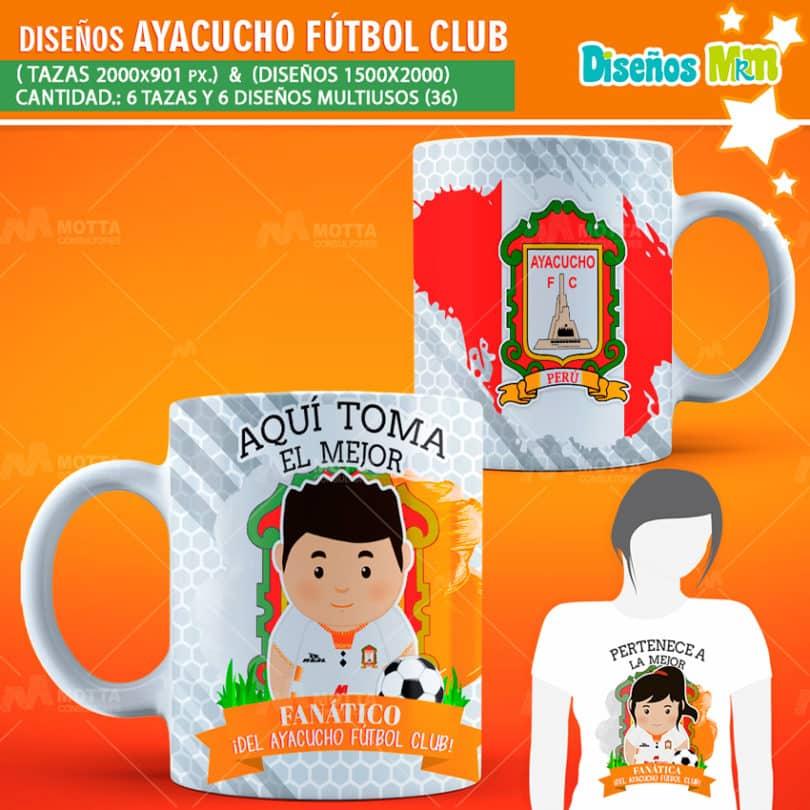 Diseños-mugs-tazas-sublimacion-profesiones-aqui-toma-peru-ayacucho-futbol-club