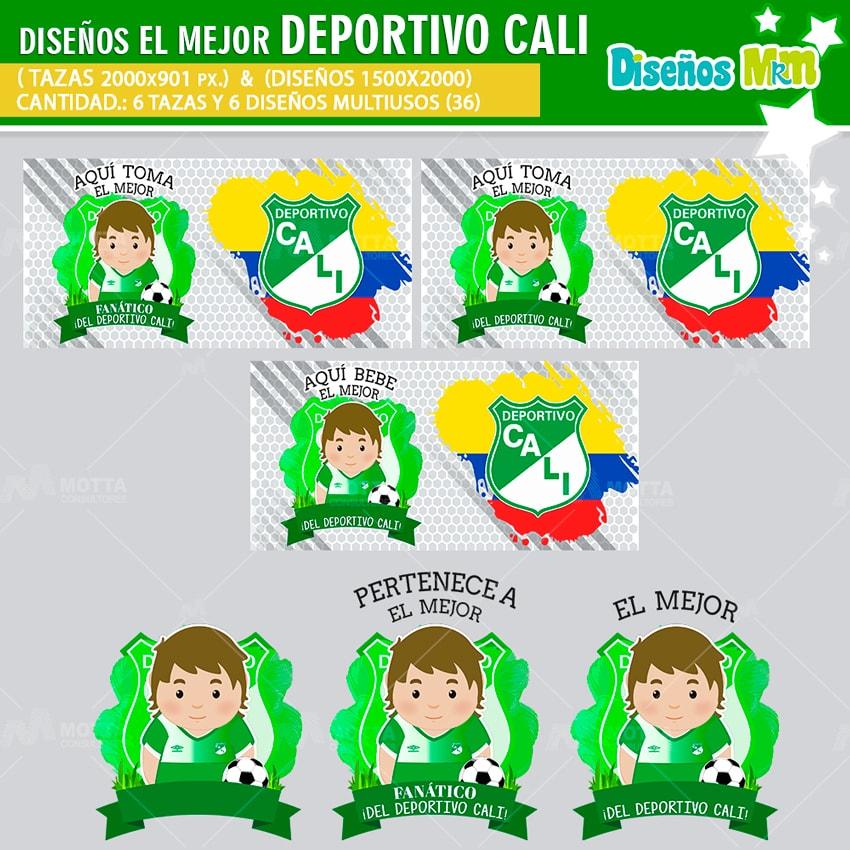DISEÑOS AQUÍ TOMA FANÁTICO DEPORTIVO CALI